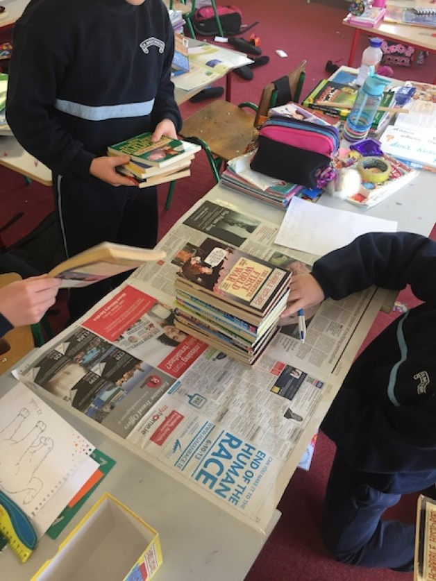 Science Experiment – Testing Newspaper Strength