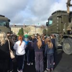 Visit to Sarsfield Army Barracks