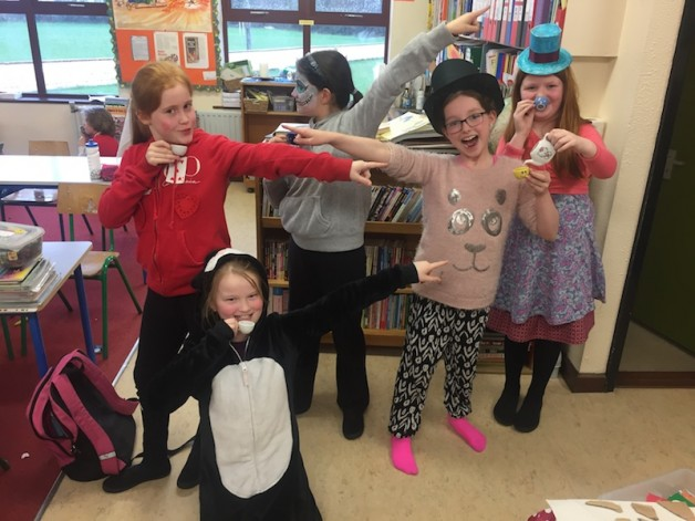 4th and 5th Class World Book Day Costumes