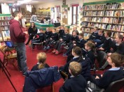 Library Visit with Derek Mulveen
