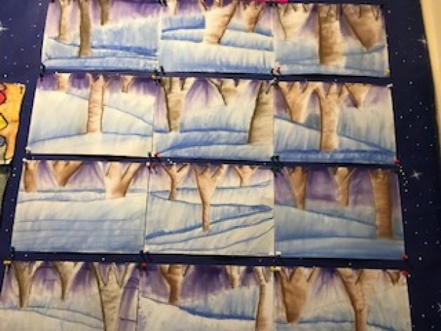 Winter Wonderland with Pastels