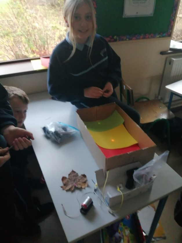 Fifth class science exploration